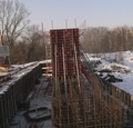 Construction of Northern Bridge Gallery